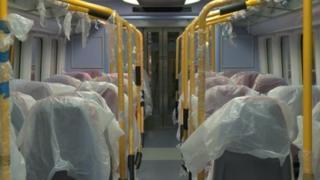 Refurbished train carriage