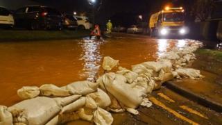 Flooding on Stonehouse Lane