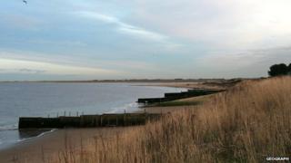 Humberston Fitties beach