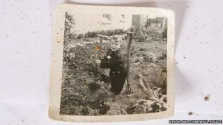 Photo found on beach