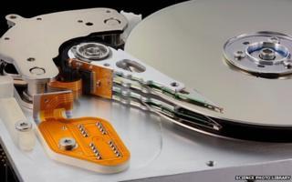 Computer hard disk