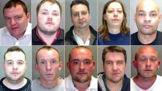 Ten jailed for drugs offences in Norfolk