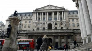 The Bank of England, fulcrum of the attempts to stave of a depression