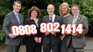 The 24-hour helpline is funded by the Departments of Health, Justice and Social Development, and was launched by Stormont ministers on Wednesday