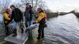The Muchelney humanitarian support boat