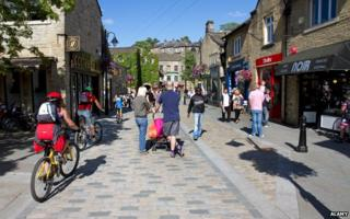 Hebden Bridge street