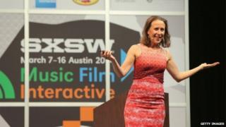 Anne Wojcicki - shown in Austin