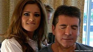 Cheryl Cole confirms she is to rejoin the X Factor in a picture on Instagram