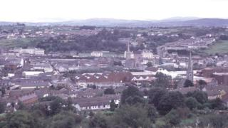 View of Newry city