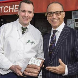 James Lally and Theo Paphitis