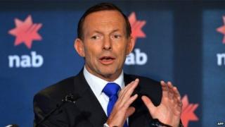 File photo: Prime Minister Tony Abbott
