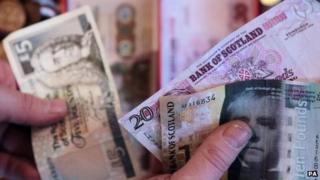 scottish banknotes