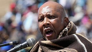 Lesotho's King Letsie