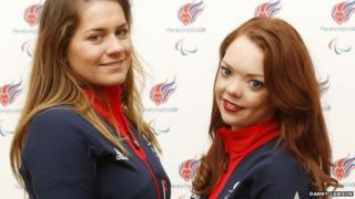 Caroline Powell and Jade Etherington