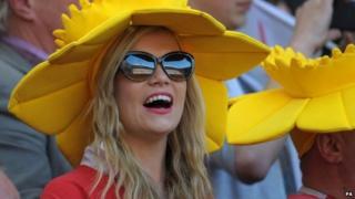 Wales rugby fan