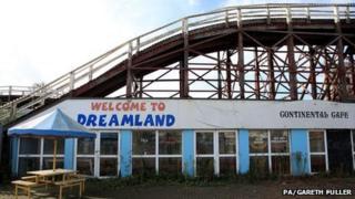 Scenic Railway at Dreamland