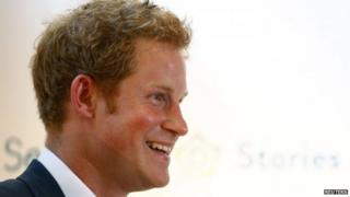 File photo of Prince Harry