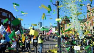 Birmingham's 2014 St Patrick's Day parade