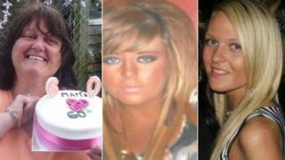 (L to R) Anne Peachey, Rebecca Learoyd and Megan Robinson