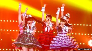 Japanese pop act Momoiro Clover Z