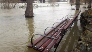 Staines flooding
