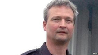 Steven Mills, 45, from Malmesbury in Wiltshire