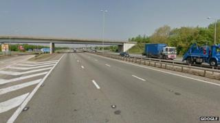 M4 at Theale