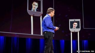 Edward Snowden at TED