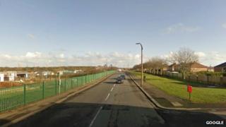 Woodhorn Road in Ashington