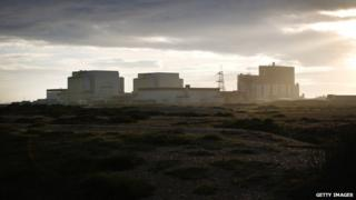 Dungeness nuclear power station