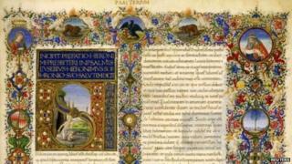 A Renaissance manuscript