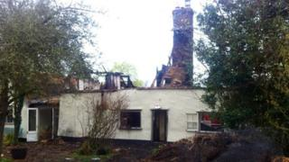 Battisford thatched cottage