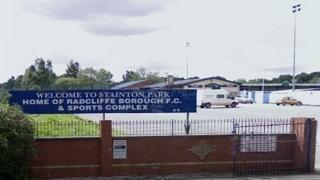 Radcliffe Borough's Stainton Park ground