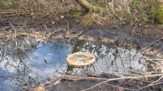 Former oil well