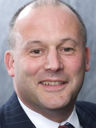 Julian Wain, former chief exec at Glos City Council until end March 2014