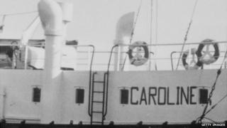 MV Mi Amigo, Radio Caroline's second ship