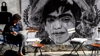 A mural of Berkin Elvan