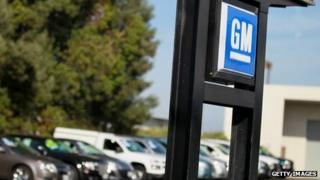 A GM dealership in California