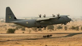 The Super Hercules is the Indian Air Force's most-advanced transporter plane.