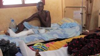 Bangui 31 March AFP
