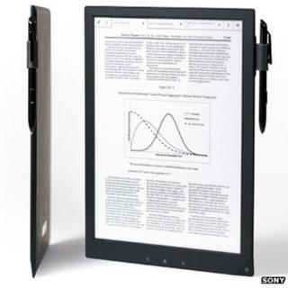 Digital Paper display