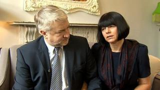 Sharon and Steve Cowburn