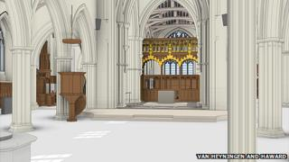 Leicester cathedral design