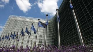 The headquarters of the European Commission in Brussels
