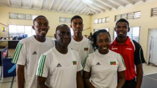Saint Kitts and Nevis table tennis team