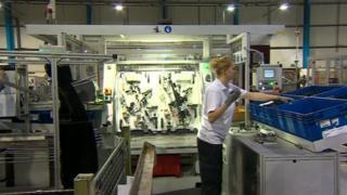 Brose UK factory floor