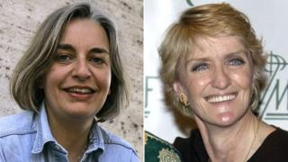 Anja Niedringhaus (left) and Kathy Gannon