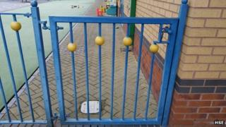 Springwood Special Educational Needs Primary School's gate
