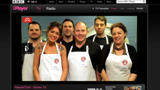 Masterchef on iPlayer
