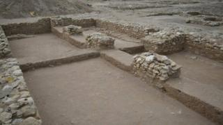 Excavated site at Ruwayda